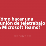 ¿Usas Microsoft Teams?
