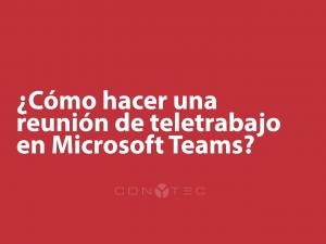 ¿Usas Microsoft Teams?